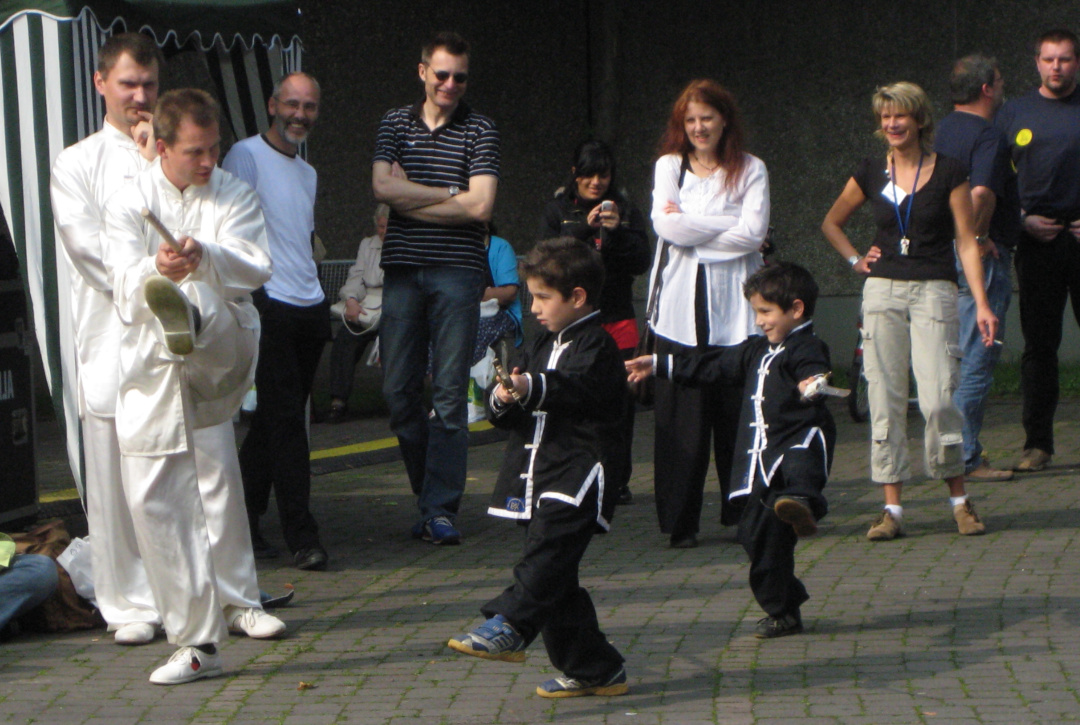Gruppentraining für Kinder im Allgäu